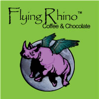 Flying Rhino Coffee Official Logo